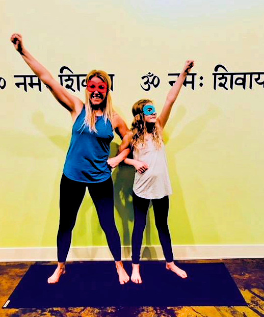 Mother's Day Superhero Yoga Class