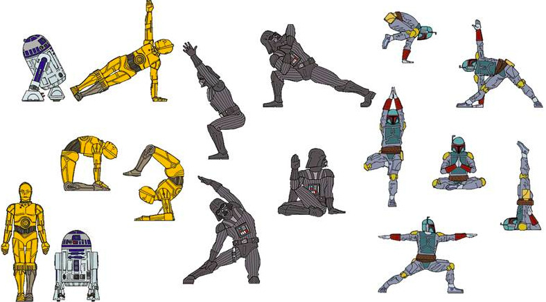 Star Wars Yoga – May the Fourth be with YOU!